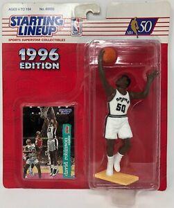 1996 KENNER STARTING LINEUP NBA DAVID ROBINSON SAN ANTONIO SPURS MOC