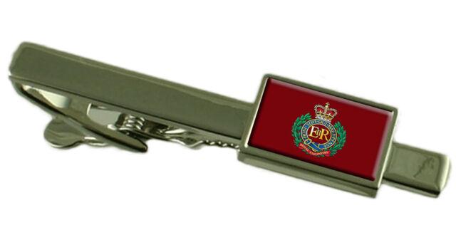 Royal Corps of Engineers Tie Clip Military Engraved Tie Slide