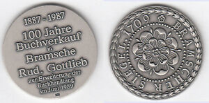 Bramsche-Buchverkauf-Rud-Gottlieb-AR-935-Empfehlungsmarke-1989-ca-16-70-g