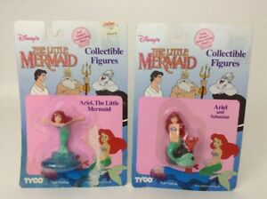 vintage 1989 tyco the little mermaid 3 5 pvc collectible figure