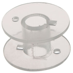 25-Clear-Plastic-Sewing-Machine-Bobbins-for-Fits-Singer-Janome-Toyota-AD