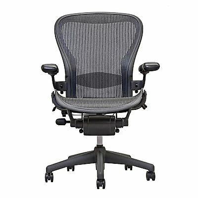 1 Herman Miller Fully Loaded Size B Aeron Chairs  - Open Box -