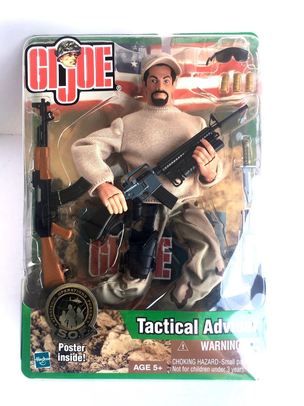 G. I. Joe TACTIKAL RÅDGIVANDE Strategiska operativa styrkor GJ -6