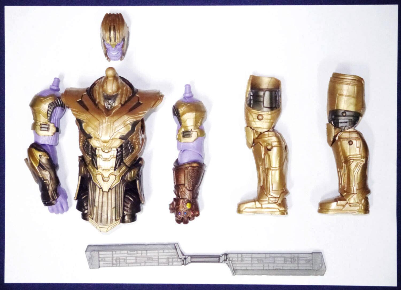 Armorojo Thanos Marvel Legends Baf Vengadores Tacho Hasbro Suelto construir una figura