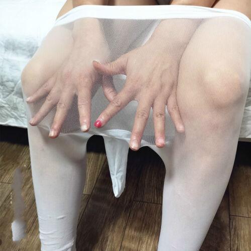 Men 360°Seamless Pantyhose Sheer 5 Single Toes Separate Five Toes Underwear
