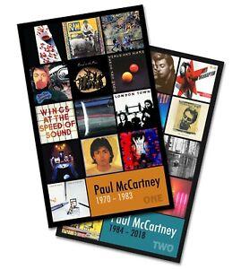 Dettagli su PAUL McCARTNEY twin pack discography magnet set (two 3 75