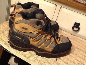MERRELL BLADE Damens's 45 DEGREES Sz 8 Trail US Braun  schwarz Trail 8 Hiking ... 24acb9