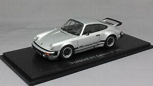 Kyosho Porsche 911 930 Carrera 2.7 En Argent 1975 05521s 1/43 Neuf Rrp £ 79.99 4548565248636