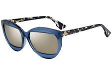 f338810d292d8 Authentic Christian Dior Mania 2 889 ue Transparent Blue Grey Havana grey  57mm