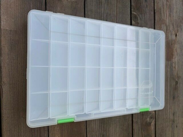 Plano Flip Sider Tackle Boxes (3) — afgedankte model --in goede staat