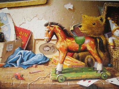 """""""giocattoli"""" Di Edward Hersey Puzzle 1000 Pezzi-nuovo E Sigillato-mostra Il Titolo Originale"""