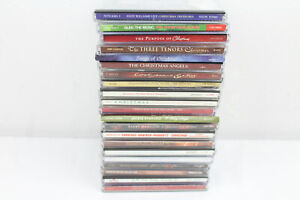 21 Christmas CDs Lot Holiday Barry Manilow Rudolph Tenors Streisand Buble