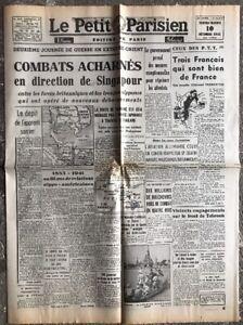 N15-La-Une-Du-Journal-Le-Petit-Parisien-10-Decembre-1941