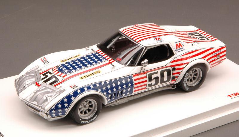 Chevrolet Corvette th Daytona 1971 Greenwood   Barker   Lang 1 43 Model