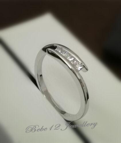 Engage Ring//Wedding Ring//Simulated Diamond//White goldR117