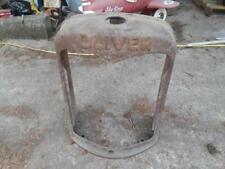 Oliver Hart Parr Cast Iron Grille Radiator Cover Antique Tractor Vintage