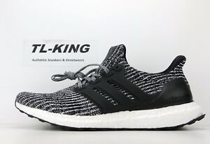 6aa06f509f2 Adidas Ultraboost Ultra Boost 4.0 Oreo Black White Grey BB6179 Msrp ...