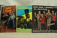lot 3 33 lp Reno Smiley and the Gang Super Pickin Little Roy Lewis Country