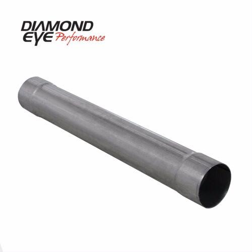 Diamond Eye Performance Exhaust Muffler Delete Pipe Universal # 510200