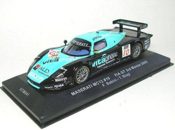 Saserati Mc12 N° 10 Fia Gt Monza 2005 ( F.Babini - T. Biagi) 1 43