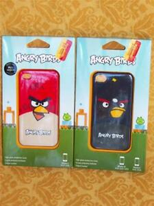 Angry Birds iPHONE Case 4/4S Hardshell Cell Phone BLACK Bomb BIG RED Cover Gear4