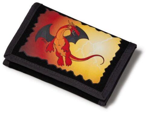 Nici dragon nylon wallet 13 x 9 cm