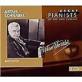 """CD x 2 PHILIPS Great Pianists 20th Century 89: 456 961-2 """"Artur Schnabel"""" Beetho"""