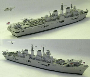 1-400-Scale-HMS-Invincible-R05-Aircraft-Carrier-Handcraft-Paper-Model-Kit