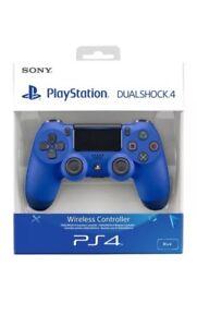 Nuevo Sony Ps4 Wireless Controller Dual Shock Wave Azul V2 Sellado Oficial