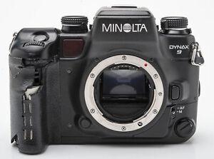 Minolta Dynax 9 Body Gehäuse SLR Kamera analoge Spiegelreflexkamera