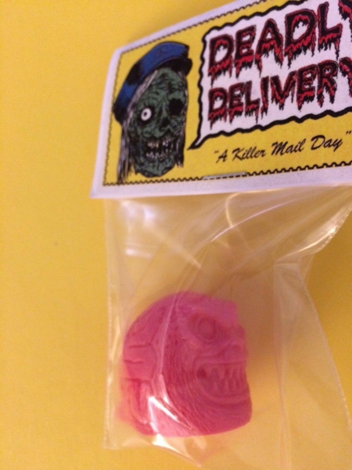 Deadly Delivery Retroband The Brain Total Sealed Header