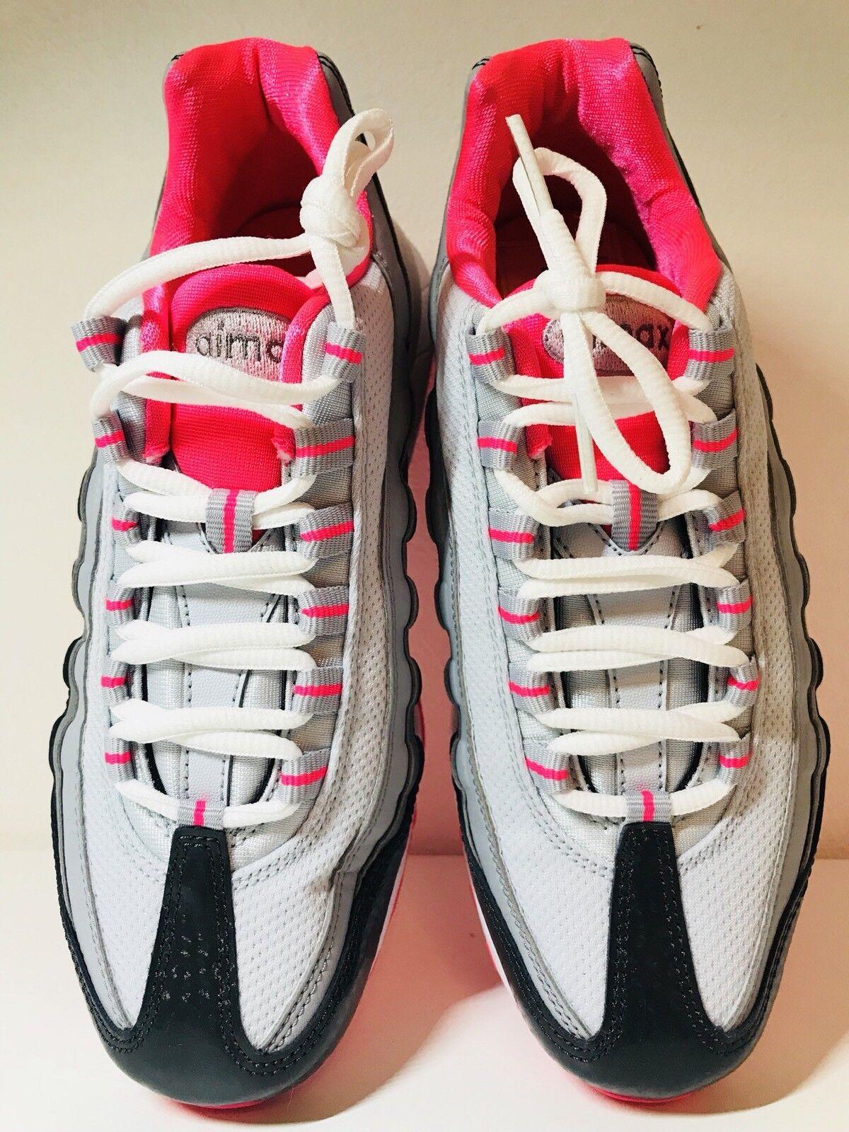 Nike Air Max 95 Größe 38 ORIGINAL NEU Turnschuhe  Weiß Grau Pink