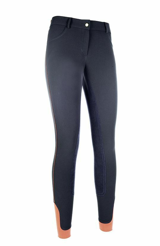 Cavallino Marino Siena Piping Equestrian 3 4 Alos Seat Horse Riding Breeches