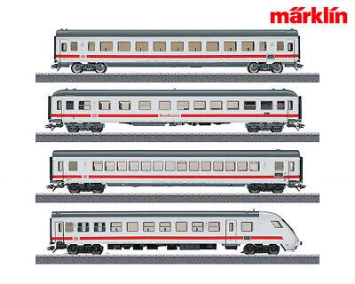 Märklin 40500-s4 Intercity Wagenset Incl. Carrello Fiscale (4 Pezzi) + + Nuovo In Scatola Originale-mostra Il Titolo Originale