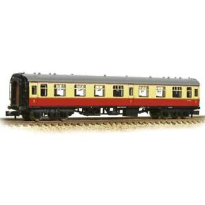 Graham-Farish-374-815A-N-Gauge-BR-Crimson-Cream-Mk1-First-Open-Coach