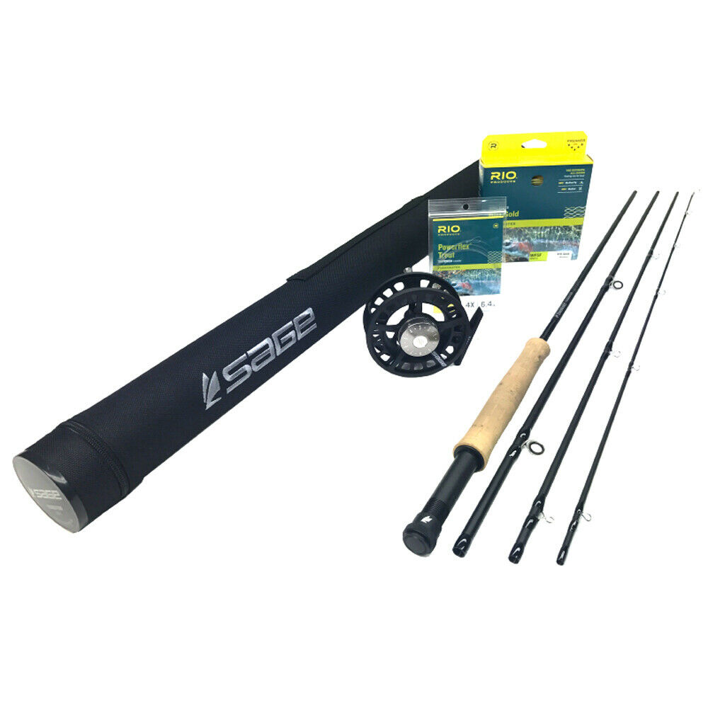 SAGE Foundation 690-4 Fly Rod Tenue  6wt 9' 0