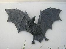 Dekofigur Gartenfigur Fledermaus Wandrelief Mystik Gothic Fantasy Vampir 30052