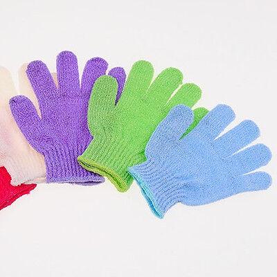 Practical Bath Shower Body Massager SPA Soap Skin Clean Exfoliating Glove Mitt