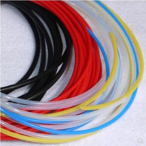 Red polytétrafluoroéthylène Tubing pipe Imprimante 3D tube 600 V Id = 1 ~ 16 mm Divers Taille Et Longueur