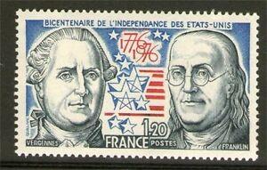 TIMBRE-1879-NEUF-XX-LUXE-BICENTENAIRE-DE-L-039-INDEPENDANCE-DES-ETATS-UNIS