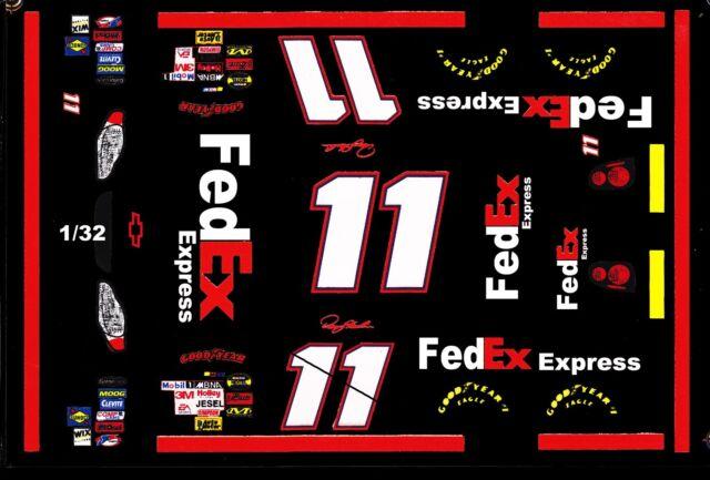 #11 Denny Hamlin FEDEx Express 2006 Rookie Car 1//32nd Scale Waterslide Decals