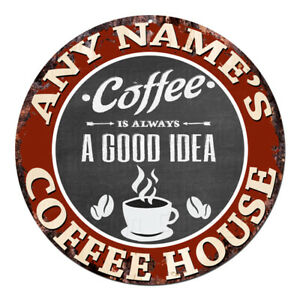 CP-0101-ANY-NAME-039-S-COFFEE-HOUSE-Custom-Personalized-Sign-Decor-Gift-Ideas