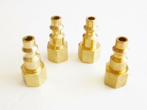 """CONNECTOR FITTING  1//4/"""" NPT 4pc FEMALE QUICK AIR COUPLER"""