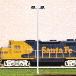 12-pcs-HO-scale-Model-Floodlight-Cold-SMD-LED-made-Plaza-Lamppost-longlife-012