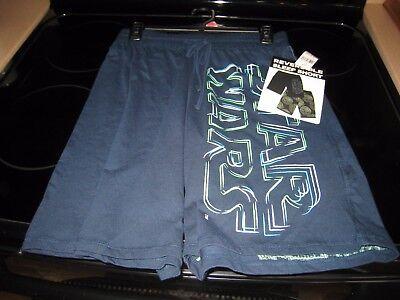 M Star Wars Mens Death Star Reversible Pajama Lounge Sleep Shorts New S L XL