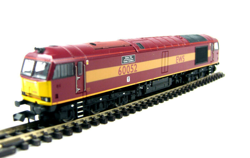 Graham Farish 371-350 Class 60 60052 'Glofa TWR' in EWS Livery DCC Fitted