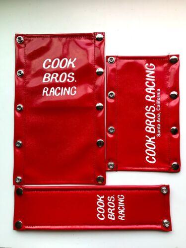 Cook Bros Racing Oldschool BMX VINYL Pad Set CBR PK RIPPER GJS REPOP
