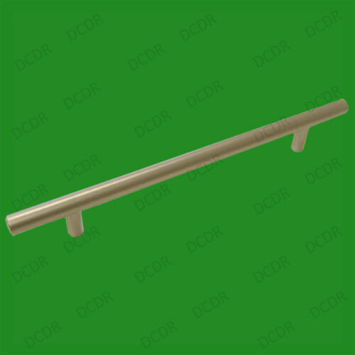 Strong Imitation Steel Brushed Chrome 160mm T-Bar Cabinet Drawer Pull Handle