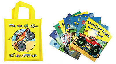 Busy Wheels: Bag Collection � 8 Book Bag Set, Bently, Peter & Archer, Mandy, Use