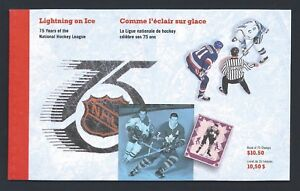 Canada-Booklet-1992-NHL-BK148-MNH-Free-Shipping